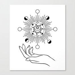 I Rule The Sun, The Moon & All The Stars Canvas Print
