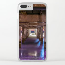 Set the Controls for the Heart of the Pier Clear iPhone Case