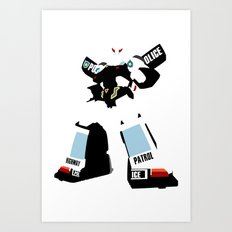 Transformers G1 - Autobot Prowl Art Print