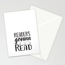 Readers Gonna Read Stationery Cards