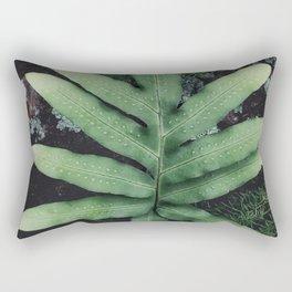 Fern and Moss Rectangular Pillow