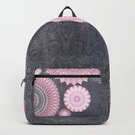 FESTIVAL FLOW - PINK GREY Backpack