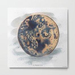 Super Blue Blood Moon 2018 Metal Print