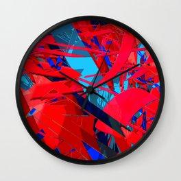couple of hashtags Wall Clock