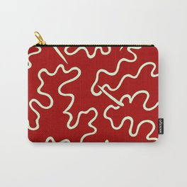 Needle and thread Allover Pattern Carry-All Pouch
