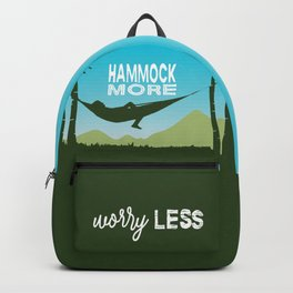 Hammock More.Worry Less. Backpack