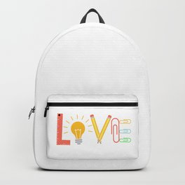 Teacher School Docent Quote | Gift Idea Backpack