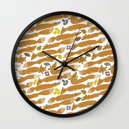 Rubah Wall Clock