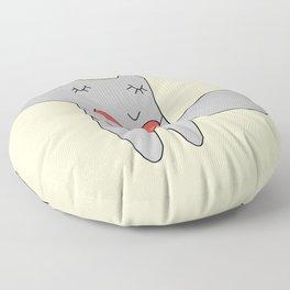 Fox in love Floor Pillow