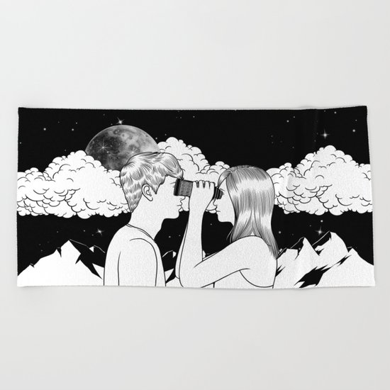 Exploring you Beach Towel