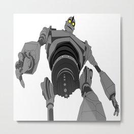 Iron Giant. Metal Print