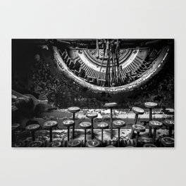 Typing histories Canvas Print