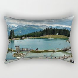 adventure park hög alps serfaus fiss ladis tyrol austria europe Rectangular Pillow