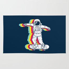 Spaceboarding Rug