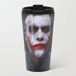 The Joker (heath ledger) Travel Mug