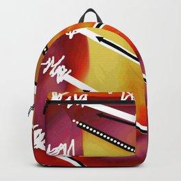 Zig Zag blanc Backpack