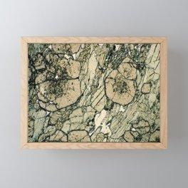Garnet Crystals Framed Mini Art Print