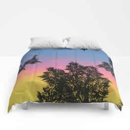 Live Oak Sunset Comforters
