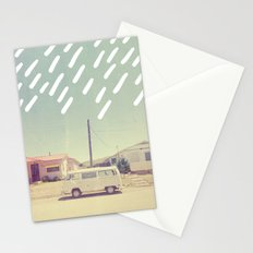 White Van, New Mexico Stationery Cards