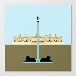 Trafalgar Square in London Canvas Print