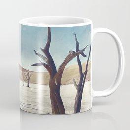 deadvlei desert trees acrfn Coffee Mug