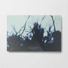 The clearest way. Metal Print