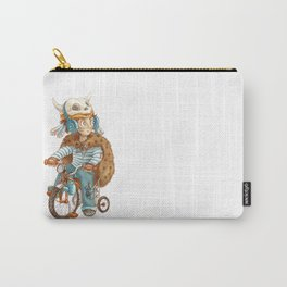 Cute fallout character - little boy with the bike Carry-All Pouch