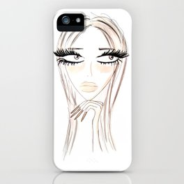 Lady Browny iPhone Case