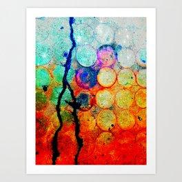 Circles: Evidence Art Print
