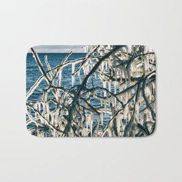 Icy Art Bath Mat