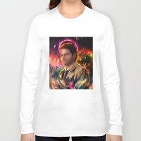 castiel Long Sleeve T-shirts featuring Castiel by ururuty