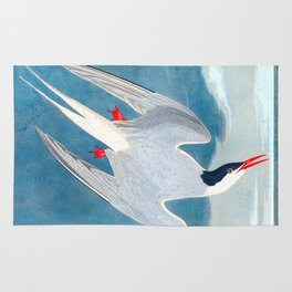 Arctic Tern Bird Rug
