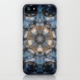 Inner World Mandala Abstract Design iPhone Case