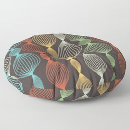Geo Bulbs Floor Pillow