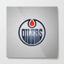 OilersLogo Metal Print