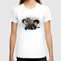smiths T-shirts featuring The Smiths (black version) by BinaryGod.com