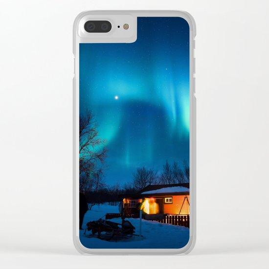 Aurora IV Clear iPhone Case