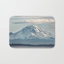 Seattle Mount Rainier Bath Mat