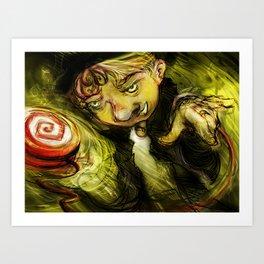 Yo-Yo Demon Art Print