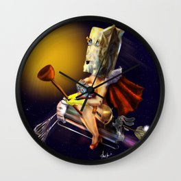 The  Unknown Super Wife Wall Clock
