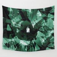 camo Wall Tapestries featuring CAMO SPLATT3R by David Lee