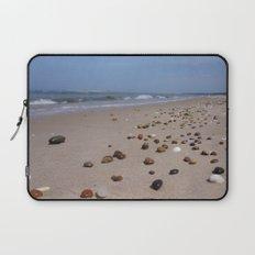 Shiney Stoney Beach - Nairn Scotland - Stones Laptop Sleeve