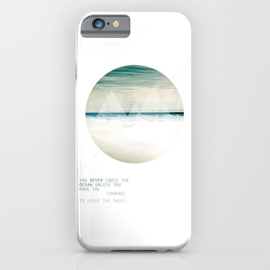 Leave the Shore iPhone & iPod Case