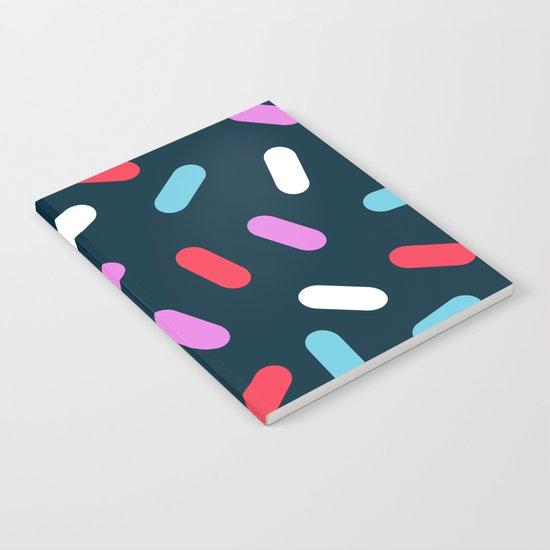 Ralph - pattern design neon bright modern trendy hipster wacka pop art 1980s 80s inspired memphis Notebook