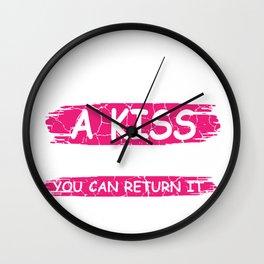 You Can Return Gift Wall Clock