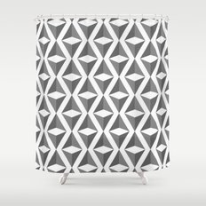 Abstract 3d grainy Shower Curtain