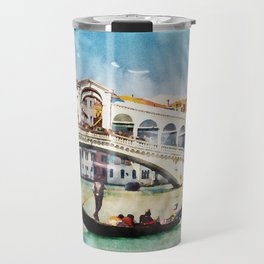 VENICE, Italy - Beautiful Earth / Watercolor art Travel Mug