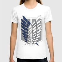 snk T-shirts featuring snk scouting legion by midoriyoru