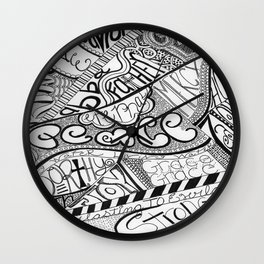 Attributes of God Wall Clock