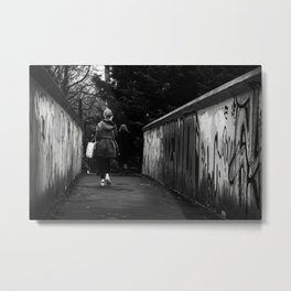 Urban grafitti Metal Print